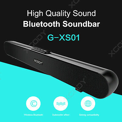 TV Lautsprecher Soundbar Bluetooth Wireless Heimkino Sound Bar Sound Box XGODY