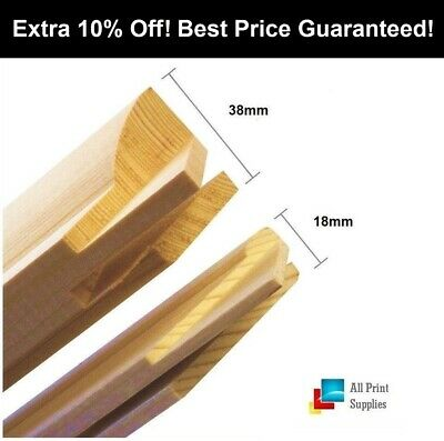 Canvas Stretcher Bars,Canvas Frames, Pine Wood 18mm & 38mm Thick-Sold By Pair_B