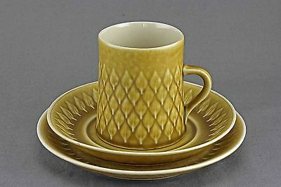 Quistgaard Relief B&g Kronjyden Coffee Cup, Saucer, Cake Plate , 24 Sets Avail.