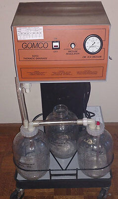 Gomco Model 6053 Suction Apparatus Surgical High Vol, Low Pressure - Never Used