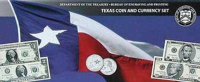 2003 TEXAS COIN AND CURRENCY SET with a SUPER LOW SERIAL NUMBER