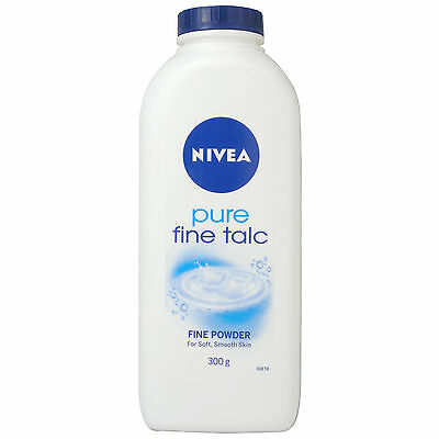 Nivea Pure Fine Talc Fine Powder For Soft Smooth Skin Talcum Powder - 300g*