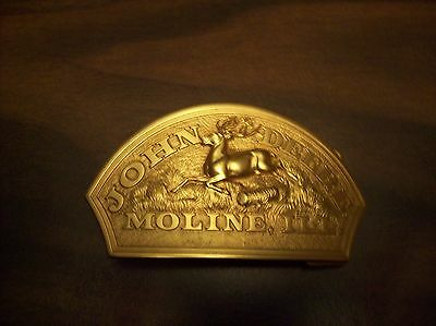 John Deere Limited Edition Belt Buckle