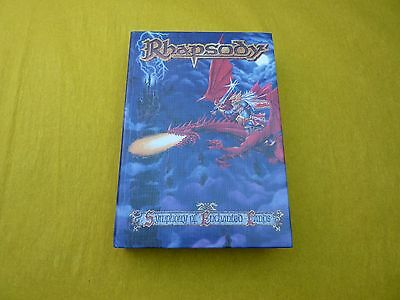 RHAPSODY - SYMPHONY OF ENCHANTED LAND box  CD (5000 COPIES) complet   ç