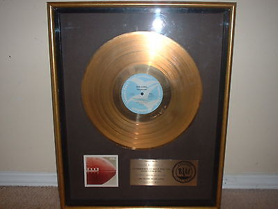 "Bob James Riaa Gold Record Award ""touchdown""   Theme From Taxi"