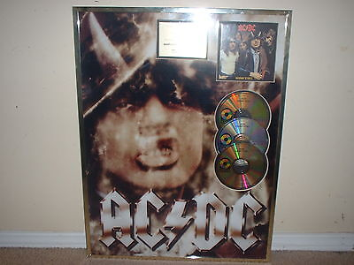 AC/DC  4 GOLD RECORD AWARDS NON RIAA Including RARE HIGHWAY TO HELL!!!  GERMANY