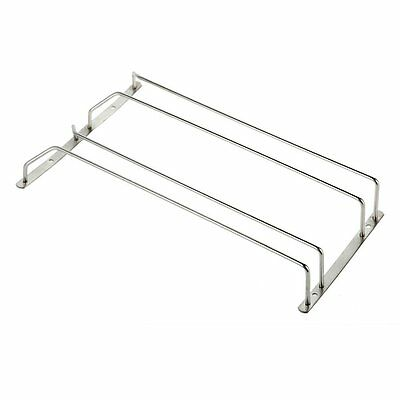 AF Wine Glass Rack Cabinet Stand Stainless Steel Home Dining Bar Tool Shelf Hold