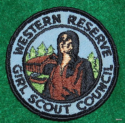 Vintage Girl Scout Patch - Western Reserve Girl Scout Council