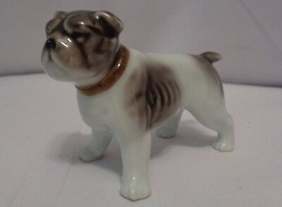 Antique Occupied Japan Bull Dog Figurine Paperweight 1945-1951 Post WWII Bulldog