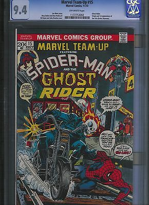 Marvel Team-up # 15 CGC 9.4  Off White Pages. UnRestored.