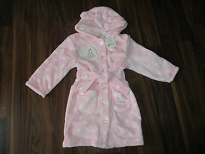 Girls GUESS HOW MUCH I LOVE YOU dressing gown bathrobe 9-12 months NEW