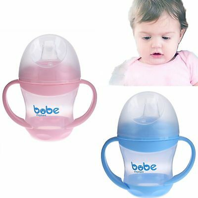 Kids Duckbill Mouth Baby Training Bottle Drinking Tool Soft Infant Cups