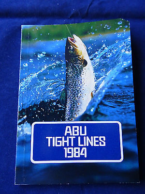Vintage 1984 Abu Vintage Fishing Catalogue With Retail Price Guide
