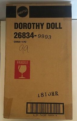 The Wizard of Oz Dorothy Porcelain Doll by Timeless Treasures Mattel In Shipper