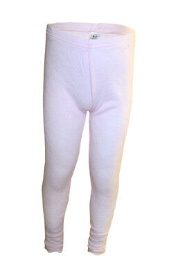 Girls Thermal Leggings Bottoms Pink Sizes Ages 4 - 7 Years
