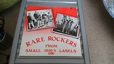 Rare Rockers Vol.4 From Small 1950's Labels - White Label V/a Sammy Berk