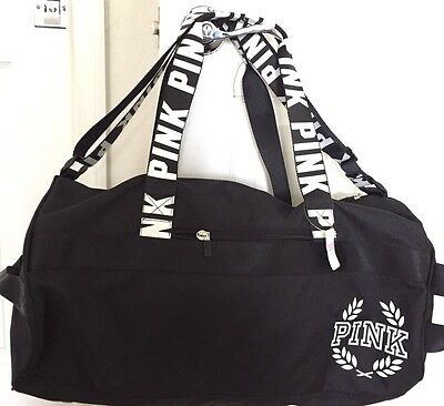 New Victoria's Secret PINK Duffel Gym Bag Carry On Luggage Overnight NWT