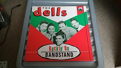 The Dells Rockin' On Bandstand R&b  Lp Record