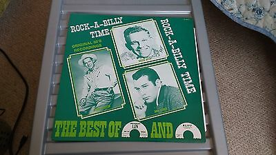 Rock-A-Billy Time The Best Of...white Label  Lp Record
