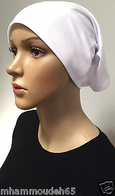Underscarf Cap Hijab ,under shwal , White color .