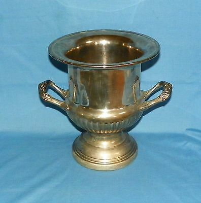 Large Silverplate Champagne Bucket Trophy Cup