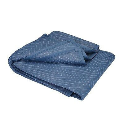 """Moving Blanket Professional Quilted Pads 72"""" x 80"""" Furniture Protection Padded"""