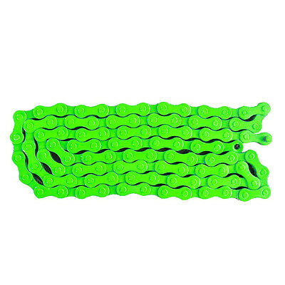 "Bicycle MTB BMX Road Bike 1/2""X 1/8"" Fixied Chain Single Speed 96 L Green A2P2"
