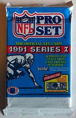 NFL 1991 Proset Card Pack