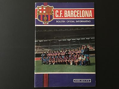 1973. ALL ABOUT JOHAN CRUYFF. Official FC Barcelona magazine