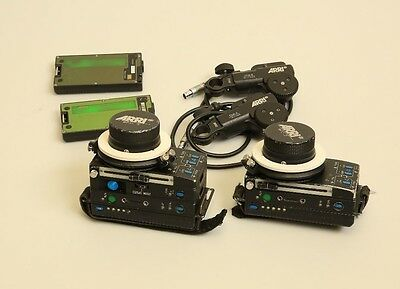 Arri Three-Axis Wireless Lens Focus/Iris/Zoom Unit with Motors and Accessories
