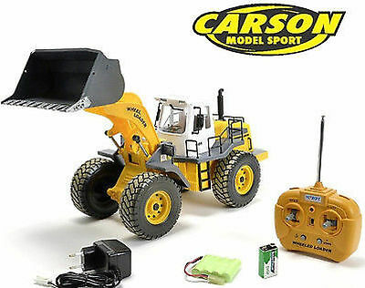 Carson Junior Line RC Loader Fully Functional Model Car 1:14 500907192 Genuine