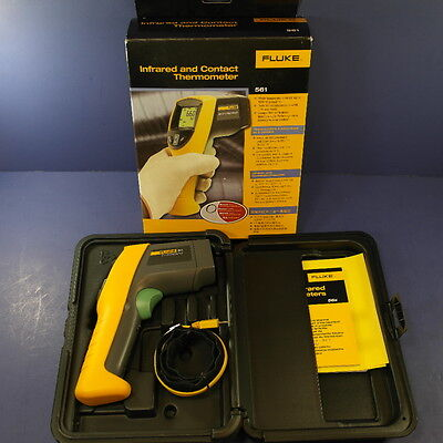 Brand New Fluke 561 IR and Contact Thermometer, Excellent Condition