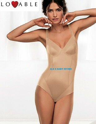 Body Lovable Modellatore Art 13020 Shaping Coppe B C D Nero Beige Senza Ferretto