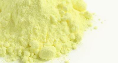Sulfur powder - 99.9% High Purity Free delivery.