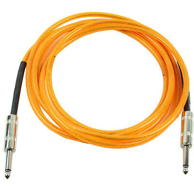 3M Orange Guitar Cable Amplifier Amp Instrument Lead Cord BF