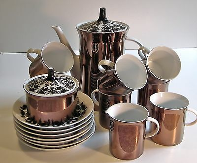 ROSENTHAL STUDIO LINIE  BJORN WIINBLAD HILTON PATTERN No 4009 19 ITEMS
