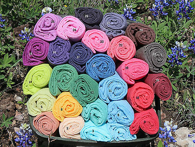 5 Colors 36x36 Gauze Cheesecloth Wraps for Newborn Photography Prop Grade 10