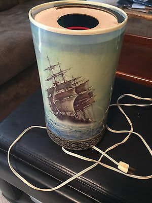 1956 L.A.Goodman Motion Lamp Clipper Ship - Lighthouse