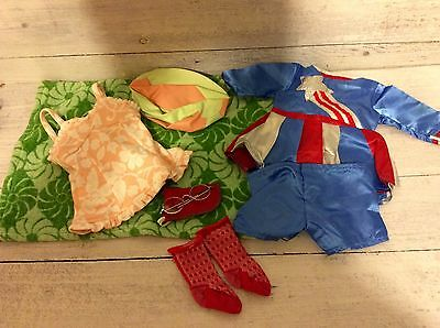 American Girl Doll,Molly Lot- Victory Outfit, Socks, Swimsuit & Glasses!