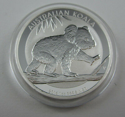 2016 Koala one ounce silver coin in clean capsule from Perth Mint - TOP COND!