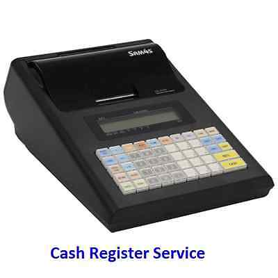 Cash Register SAM4S ER-230 Portable+10 Thermal Rolls FREE! NOW Available !!!
