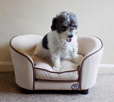 """""""Millies"""" Ultimate luxury Cream Dog Bed / Sofa,luxury comfort for your pet"""