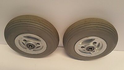 Used  Permobil  Rear Solid Caster Wheels 210x65 (2.50-3) C300 Power Wheelchair