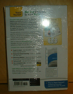Teach Yourself Complete Italian Book/cd Audio Course Brand New Sealed