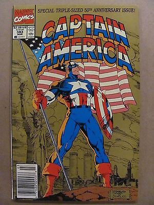 Captain America #383 Marvel 1968 Series 50th Anniversary Issue Newsstand 9.4 NM