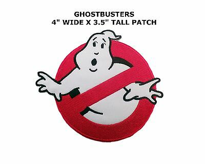 "Athena Ghostbusters 4"" Movie Logo Embroidered Iron/Sew-on Applique Patch"
