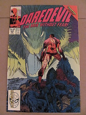 Daredevil #265 Marvel Comics NETFLIX Inferno crossover