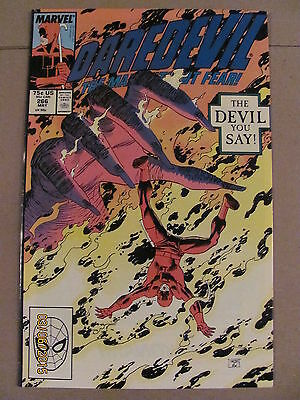 Daredevil #266 Marvel Comics NETFLIX