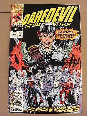 Daredevil #306 Marvel Comics NETFLIX 9.2 Near Mint-