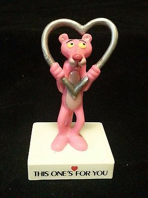 The Pink Panther Love Message Figurine Toy This One's for You